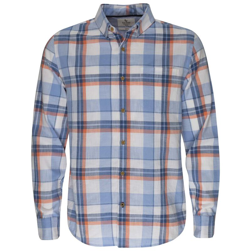 Old Khaki Men's Silas Shirt -  orange