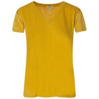 Old Khaki Women's Mercy Anglaise T-Shirt -  ochre