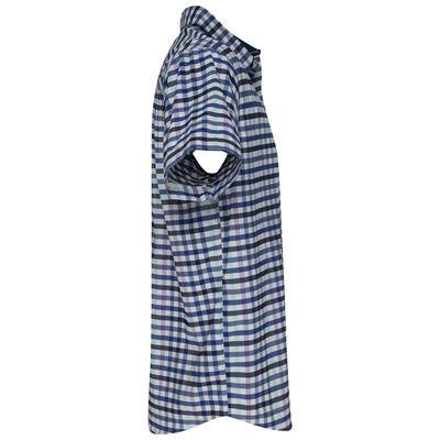K-Way Men's Explorer Vaillant Short Sleeve Check Shirt