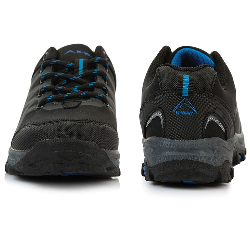 K-Way Kids Amazon Shoe -  black-royal