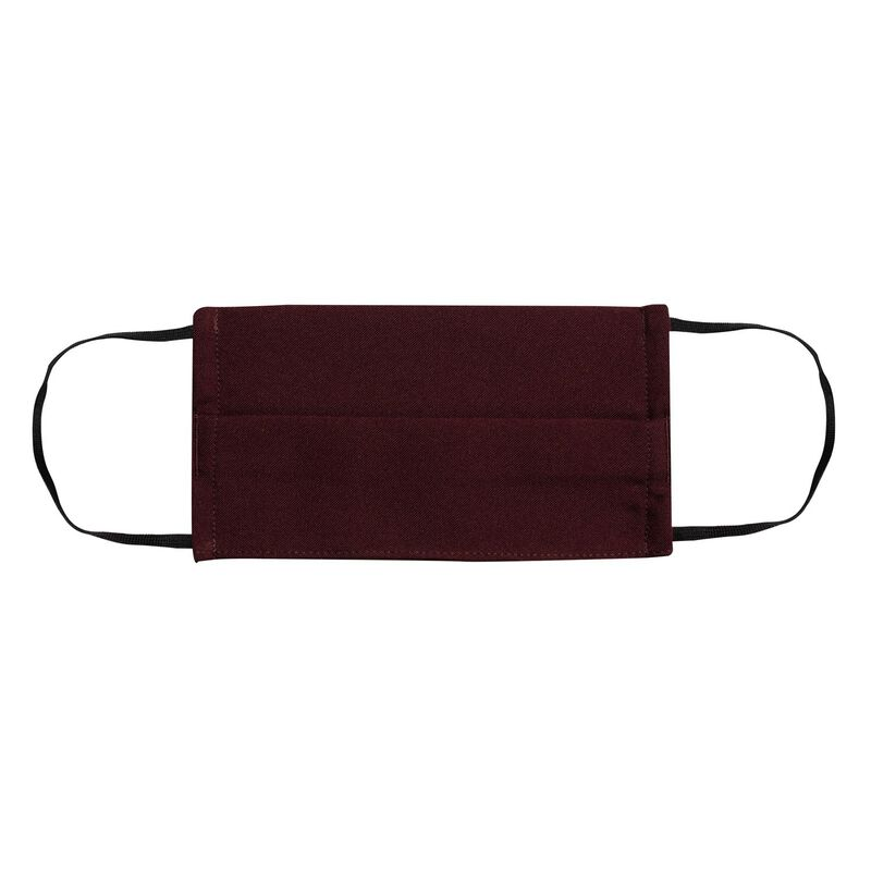 Fabric 2-Layer Face Mask 3-Pack with Filter -  burgundy-royal