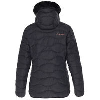 K-Way Women's Alexa Down Jacket  -  black-rose