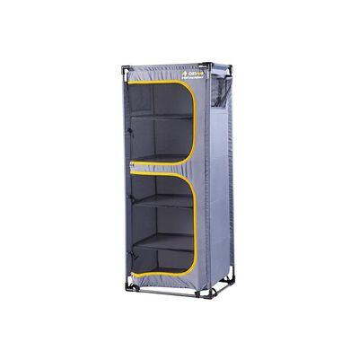 OZtrail 5-Shelf Camp Cupboard with Steel Frame