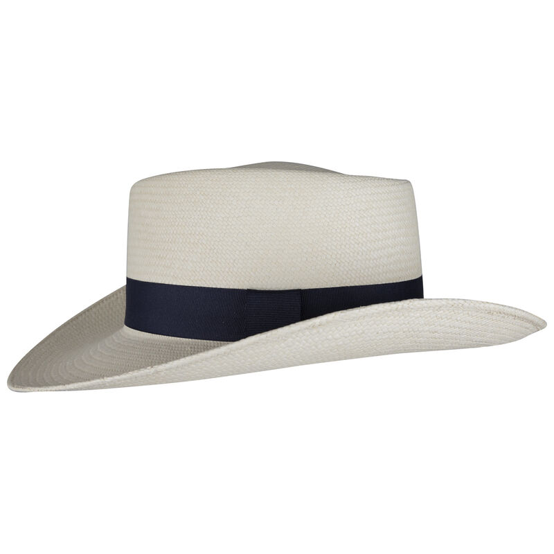 Cape Union Women's Stephanie Panama Hat  -  cream-navy