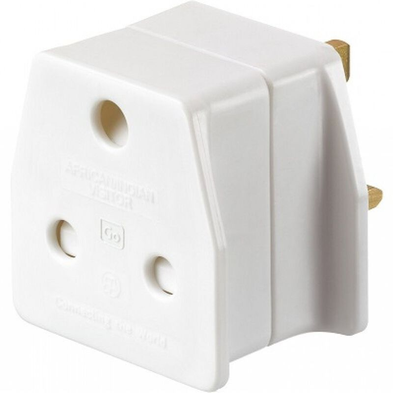 GO SA to UK Travel Adaptor -  nocolour