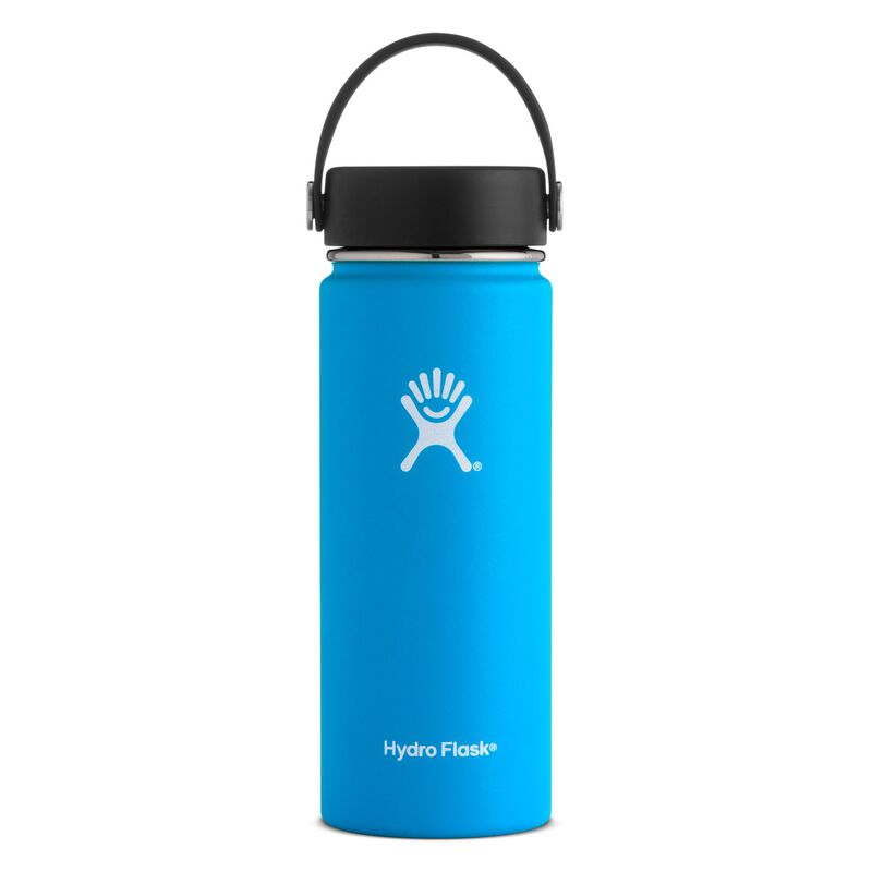 Hydroflask 532ml Wide Mouth Flask -  lightblue