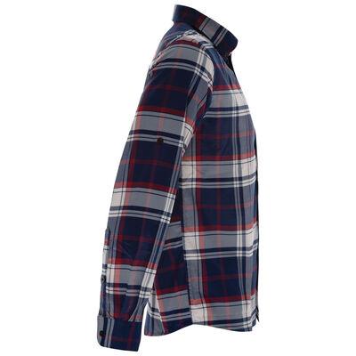 K-Way Men's Explorer Beaufort Long Sleeve Check Shirt