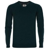 Rustin Men's Pullover -  bottlegreen