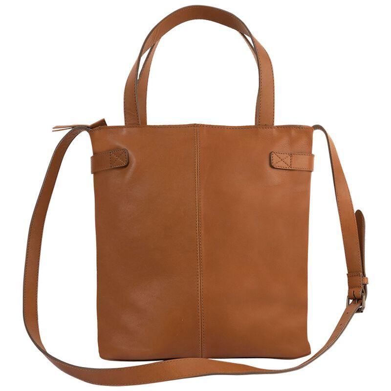Sasha Leather Bag -  tan