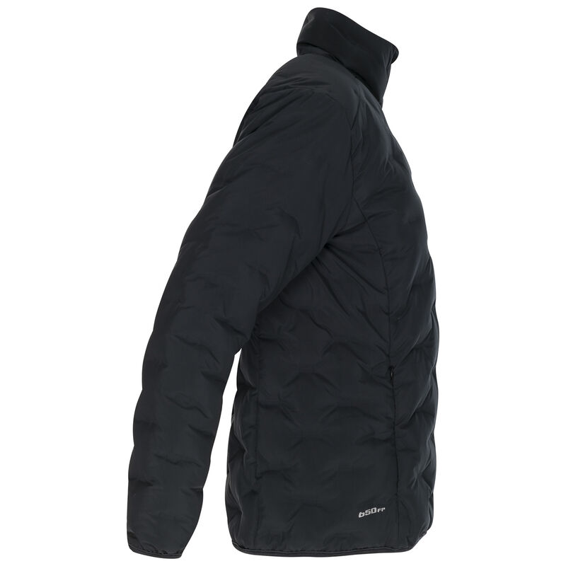K-Way Women's Manaslu Down Jacket -  black-darkcharcoal