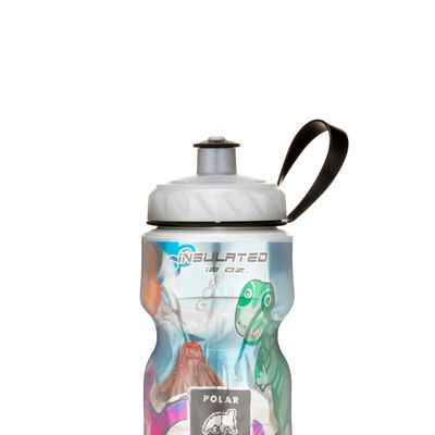 Polar Dino Might 12 oz kiddies insulated waterbottle
