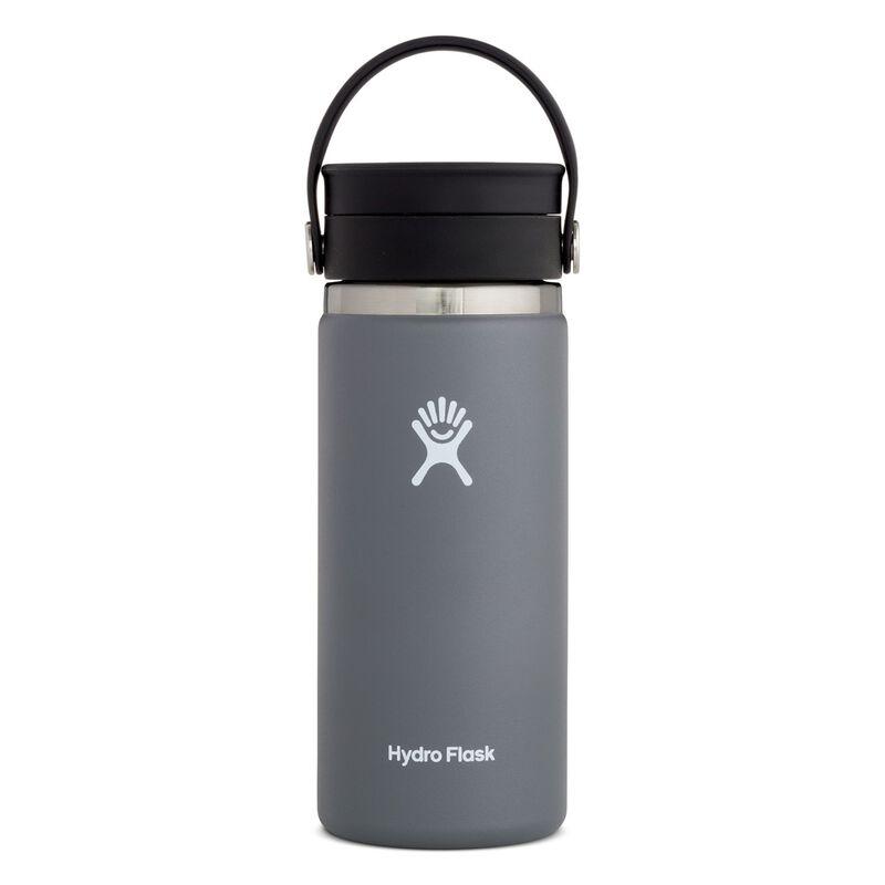 Hydroflask 473ml Wide Mouth Flex Sip Lid Coffee Mug 16oz -  graphite