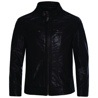 Theo Men's Leather Jacket