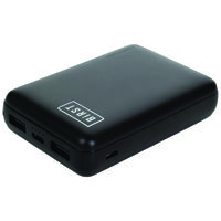 Birst Compact 10 000mAh Power Bank -  black