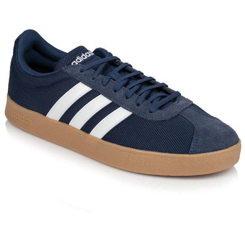 Adidas Men's VL Court 2.1 Sneaker -  navy