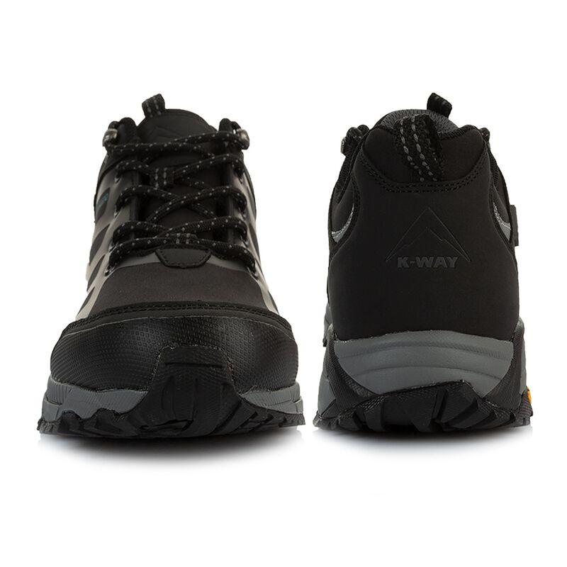 K-Way Men's Edge 2 Shoe  -  black-black