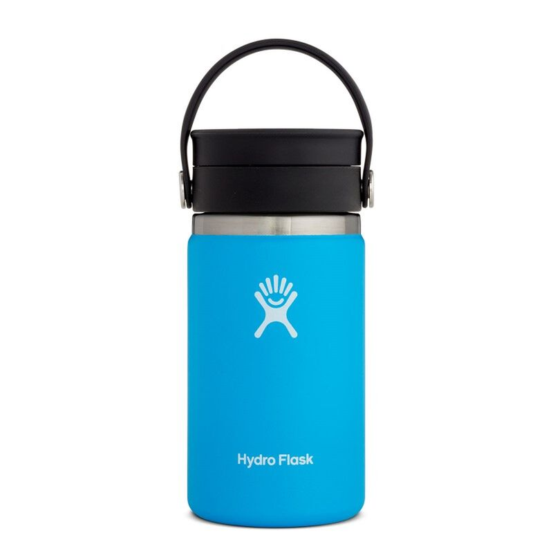 Hydroflask 354ml Wide Mouth Flex Sip Lid Coffee Mug -  lightblue