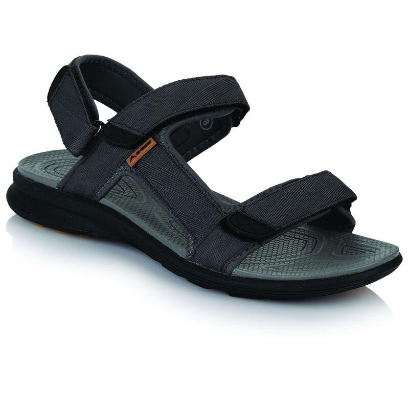 K-Way Men's Re-Fresh Sandal -  grey-black