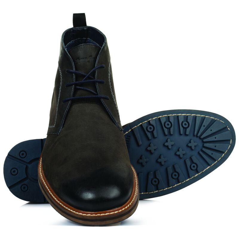 Arthur Jack Men's Merrick Boot -  charcoal