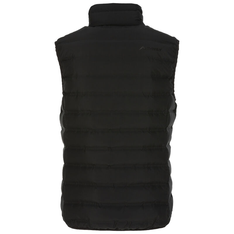 K-Way Women's Signa Re:Down Vest -  black