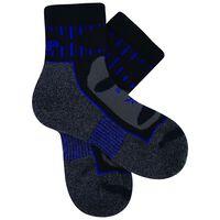 Balega Blister Resist Quarter Sock -  grey-cobalt