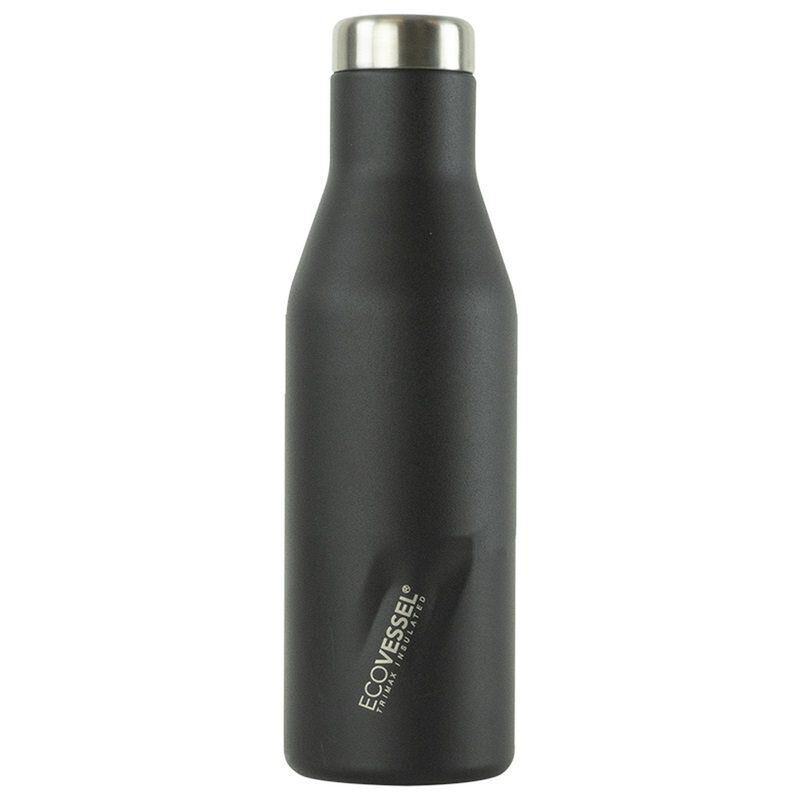 Ecovessel 473ml Aspen Flask -  black