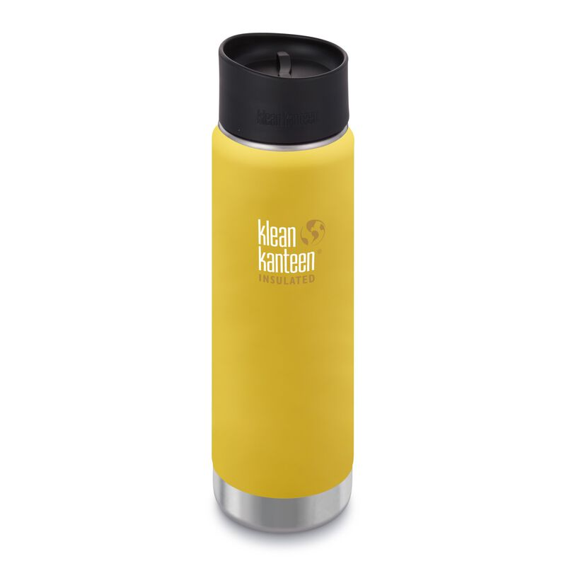 Klean Kanteen Wide Vacuum Insulated Bottle 20oz -  yellow