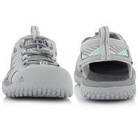 Keen Women's SOLR Sandal  -  lightgrey-mint