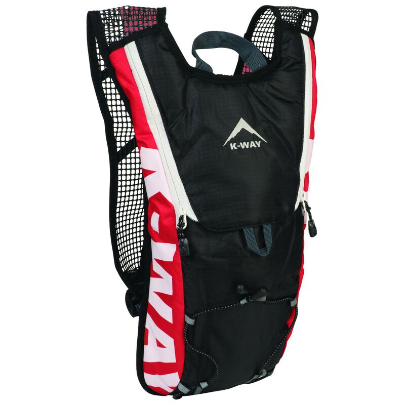 K-Way Dart 2L Hydration Pack -  red-charcoal