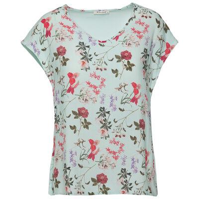 Rare Earth Women's Rue Printed Floral T-Shirt