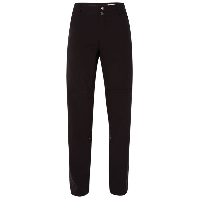 K-Way Women's Peri Zip-Off Trousers -  darkcharcoal