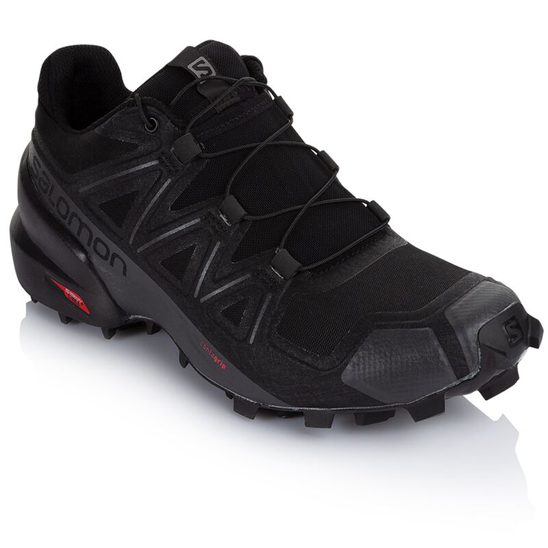 Salomon Women's Speedcross 5 Shoe -  black-black