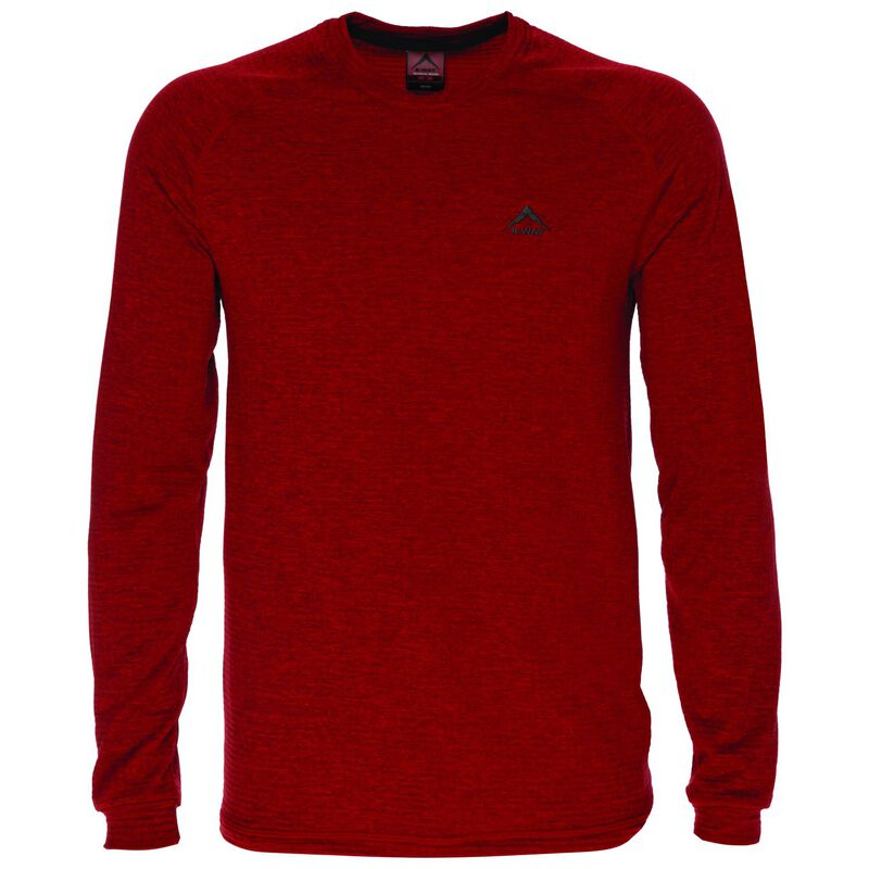 K-Way Men's Harper Crewneck Fleece  -  red