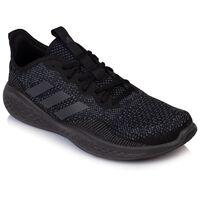 Adidas Men's Fluidflow Sneaker -  black-black