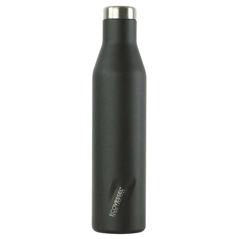 Ecovessel 750ml Aspen Flask -  black