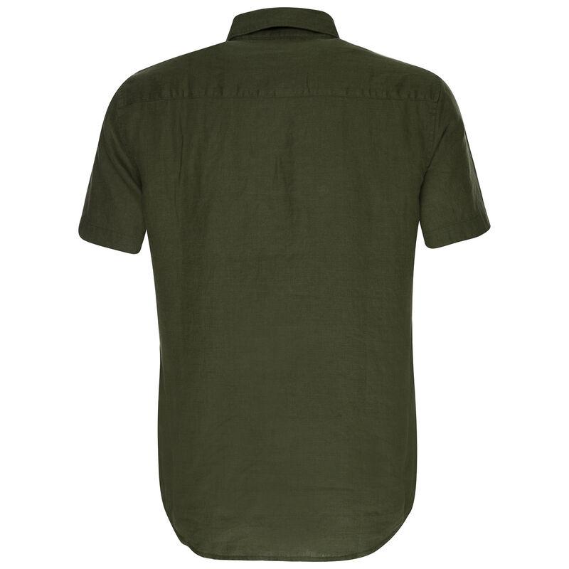 Old Khaki Men's Laz Linen Shirt -  olive