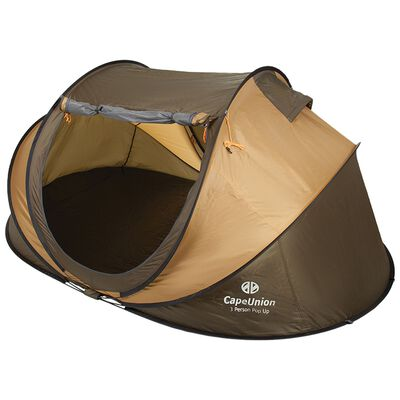 Cape Union Pop Up Three Person Tent