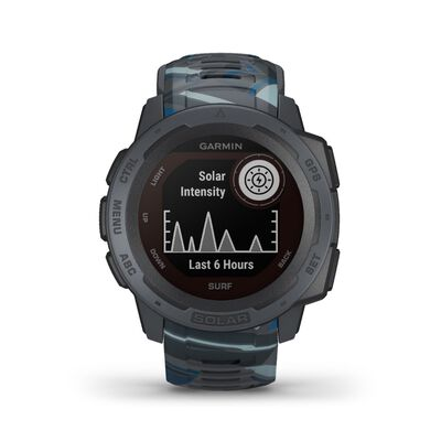 Garmin Instinct Solar Surf Fitness Watch