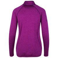 K-Way Women's Iska 1/4 Zip Fleece  -  plum