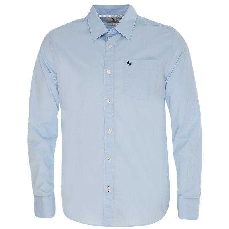 Old Khaki Men's Andy 2 Slim Fit Shirt  -  lightblue