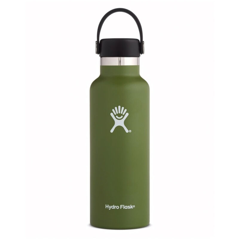 Hydroflask 532ml Standard Mouth Flask -  green