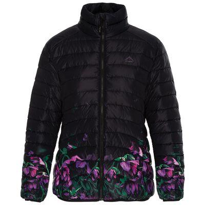 K-Way Women's Fern Printed Ombre Down Jacket