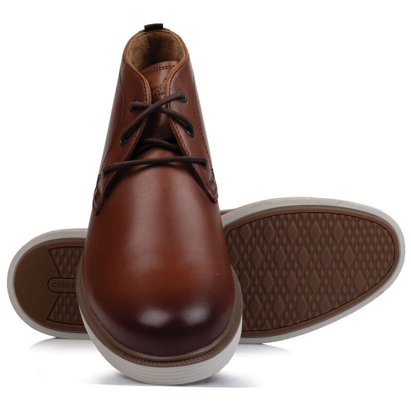 Florsheim Men's Supacush Chukka Boot -  tan