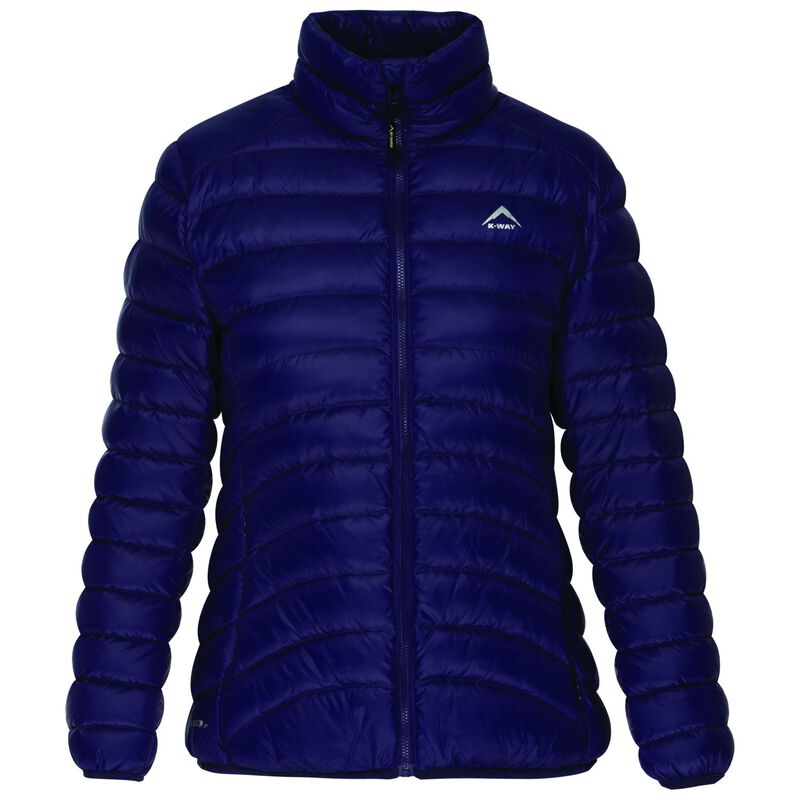 K-Way Women's Swan '18 Down Jacket -  indigo