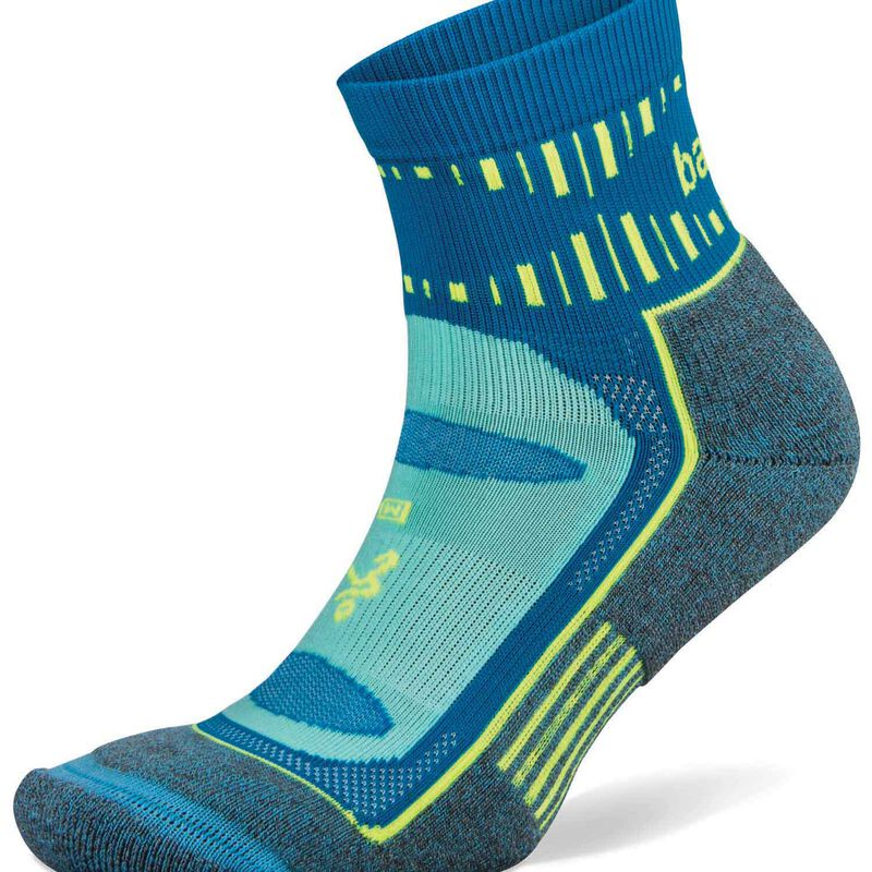 Balega Blister Resist Quarter Sock -  aqua-blue