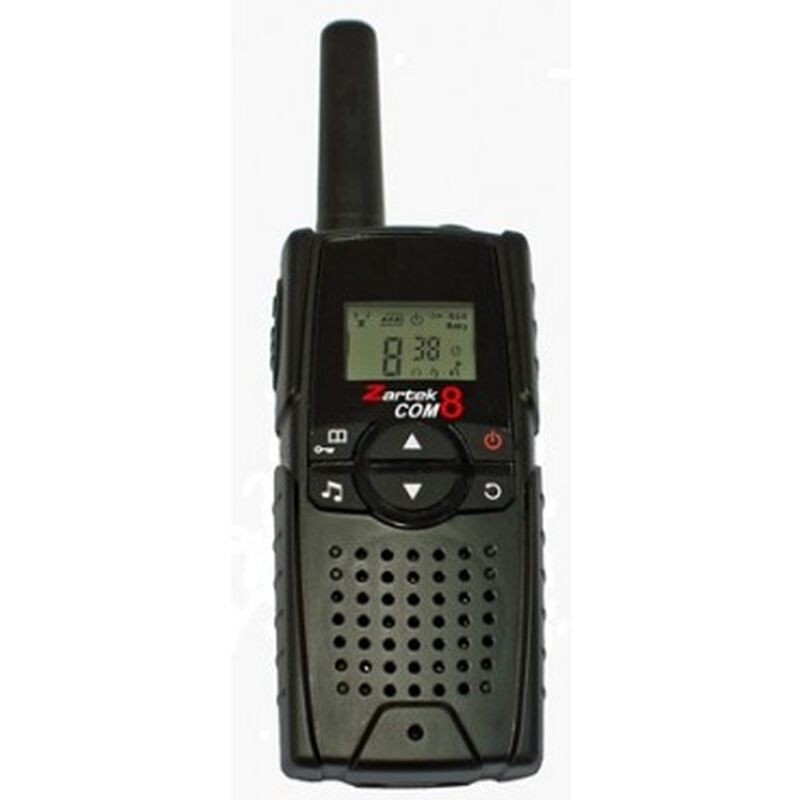 Zartek Com 8 Super Pack Two-Way Radios -  black
