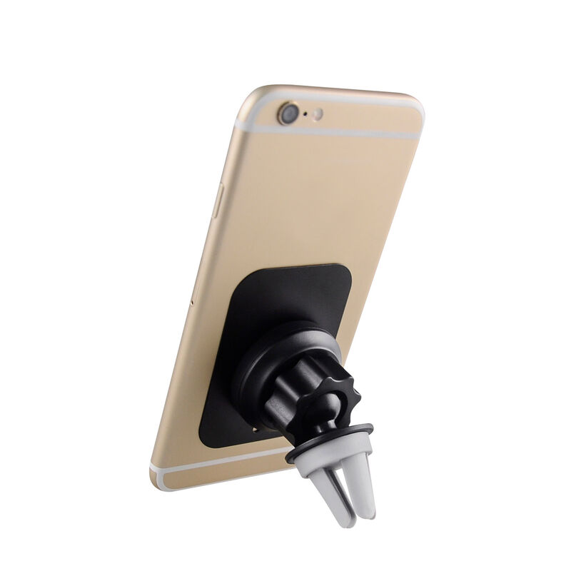 Volkano Breeze Car Airvent Magnetic Phone Holder -  black