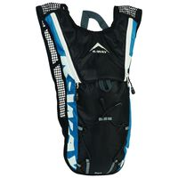 K-Way Dart 2L Hydration Pack -  blue-charcoal