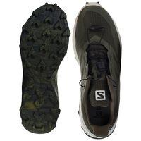 Salomon Men's Supercross Blast Shoe -  olive-white