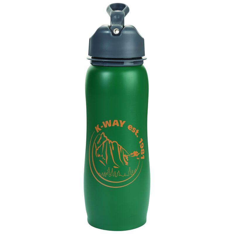 K-Way Explore Stainless Steel 750ml Bottle -  green-orange